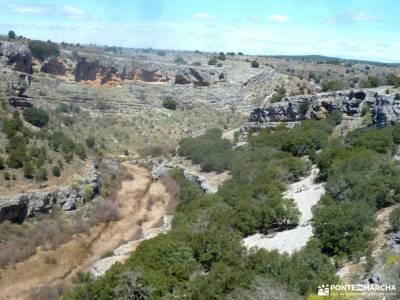 Parque Natural Barranco Río Dulce;la hiruela raquetas de nieve el tiemblo piedralaves